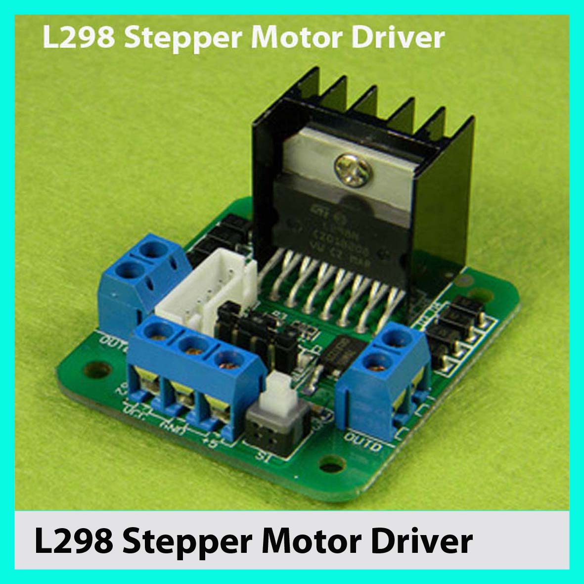 Stepper Motor Driver Scematics